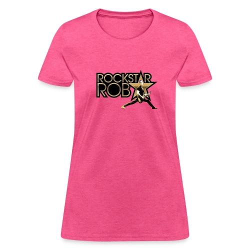 RockstarRob-LogoPlusIllus - Women's T-Shirt