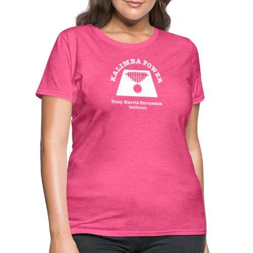 Kalimba Power Tony Harris Percussion w - Women's T-Shirt
