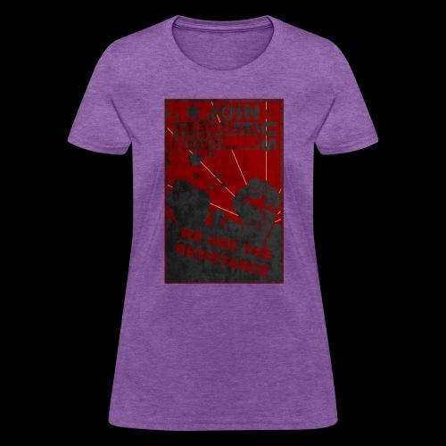GMG Resistance Poster - Women's T-Shirt