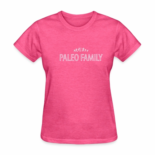 Paleo Family - 4 Kids - Women's T-Shirt