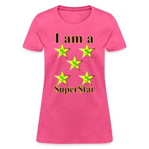 I am a SuperStar all collections - Women's T-Shirt