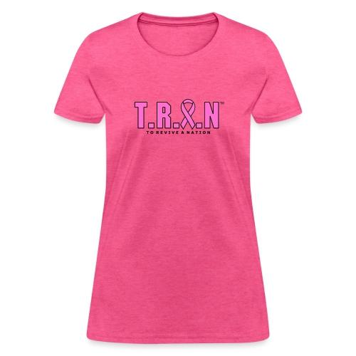 TRAN Ribbon Logo - Women's T-Shirt