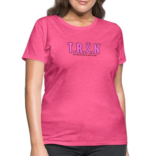 TRAN Ribbon Logo - Women's T-Shirt