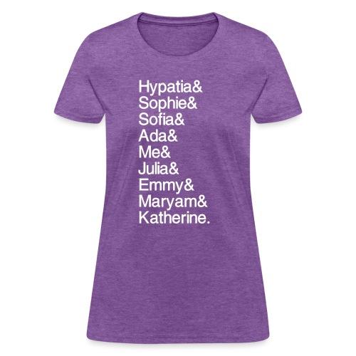 Women in Math & Me! - Women's T-Shirt