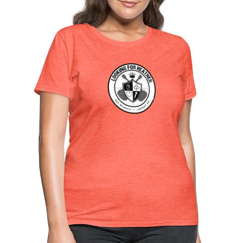 Looking For Heather - Crest Logo - Women's T-Shirt