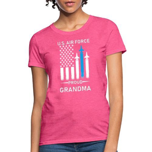 Proud Air Force Grandma - Women's T-Shirt