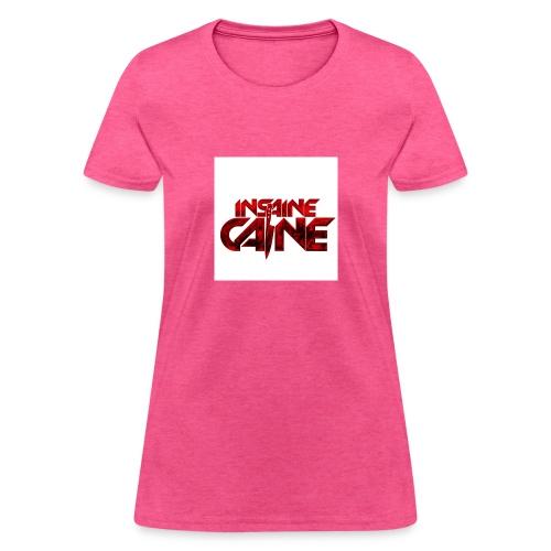 Collection 1: INSAINE CAINE Logo - Women's T-Shirt
