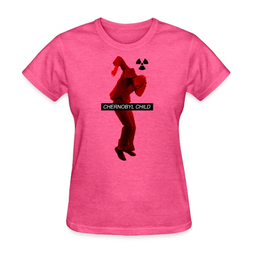 CHERNOBYL CHILD RED - Women's T-Shirt