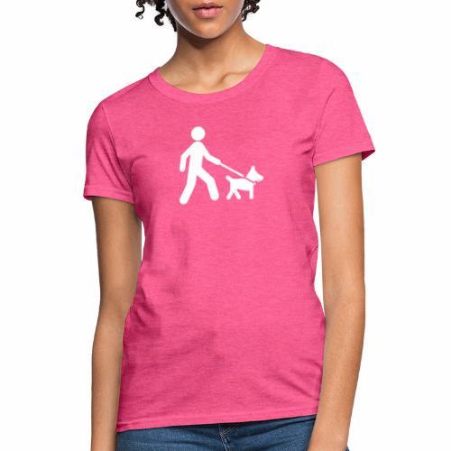 Walk the dog - Women's T-Shirt