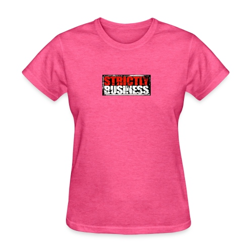Strictly Business Productions Music Group Logo - Women's T-Shirt