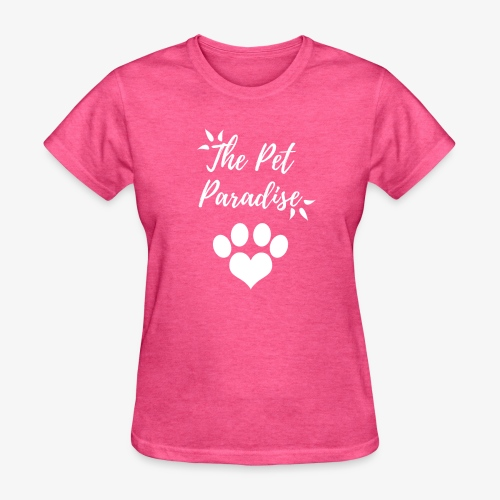 The Pet Paradise - Logo - Women's T-Shirt