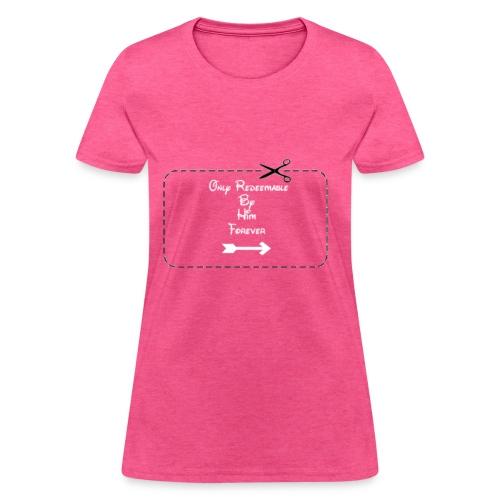 Couple's Coupon Design - Women's T-Shirt