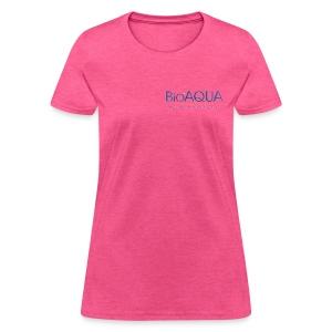 bioaqua no.1 logo - Women's T-Shirt