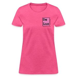 De Luz Coffee pink logo - Women's T-Shirt