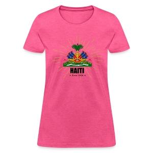 Haiti Emblem - Women's T-Shirt