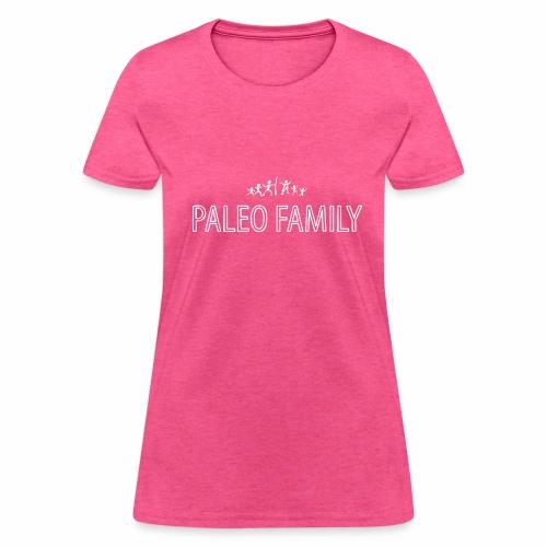 Paleo Family - 4 Kids - Women's T-Shirt