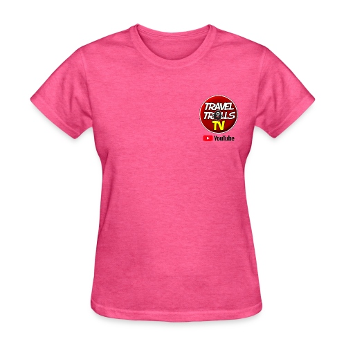 Travel Trolls TV Logo - Women's T-Shirt