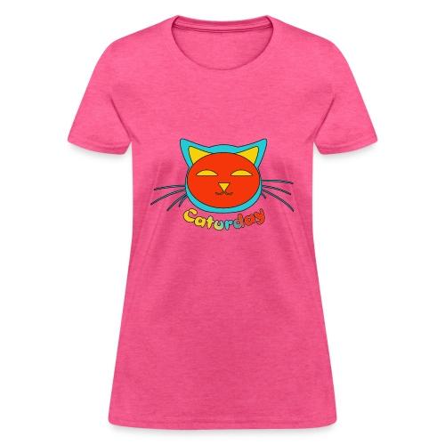 Caturday Design - Women's T-Shirt