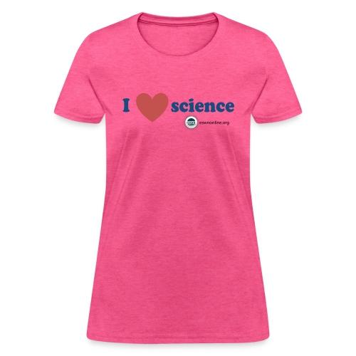 Science Love - Women's T-Shirt