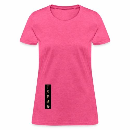FRE$H ULTRA LOGO - Women's T-Shirt
