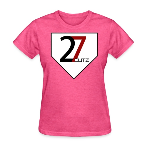 27 Outz - Home Plate - Women's T-Shirt