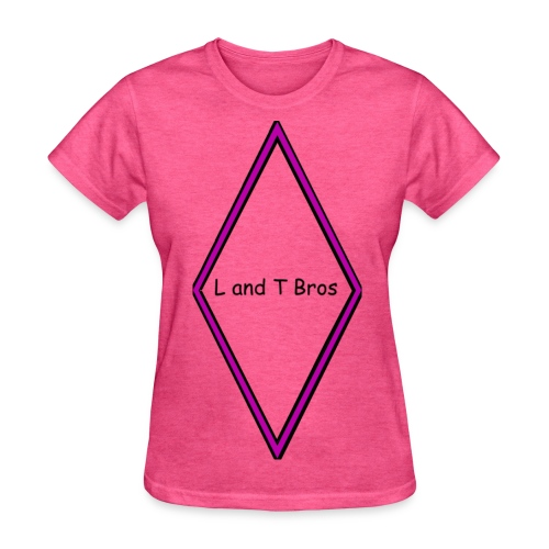 L and T Bros Shirt Purple - Women's T-Shirt