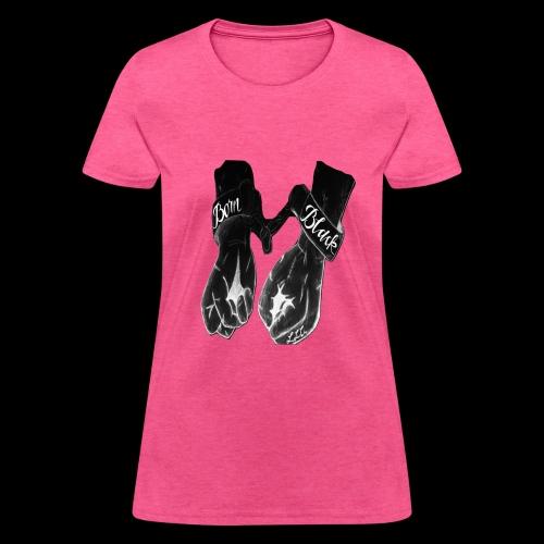 Born Black Logo - Women's T-Shirt