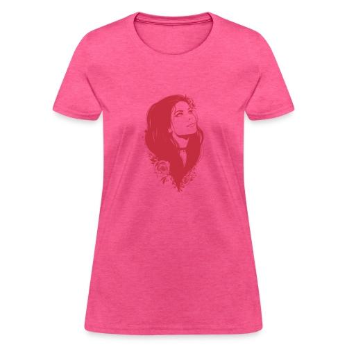 A draw of a girl - Women's T-Shirt