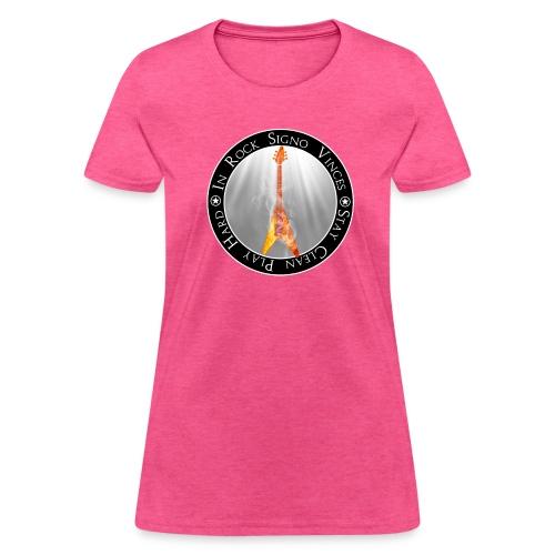 In Rock Signo Vinces - Women's T-Shirt