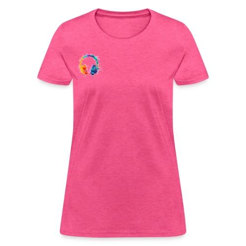 Colourful headset - Women's T-Shirt
