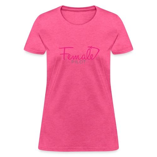 Female Pilot - Women's T-Shirt
