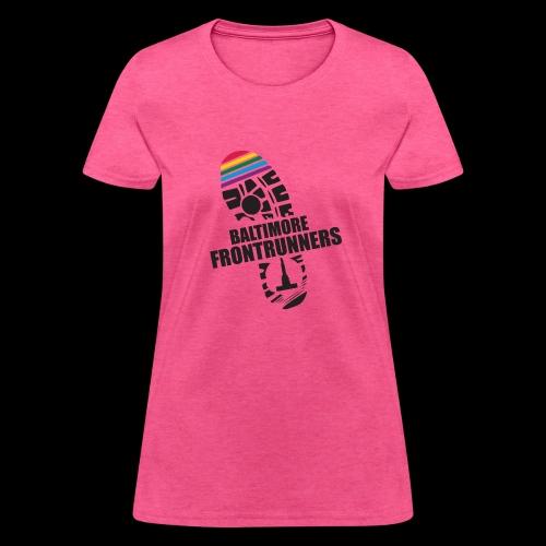 Baltimore Frontrunners Black - Women's T-Shirt