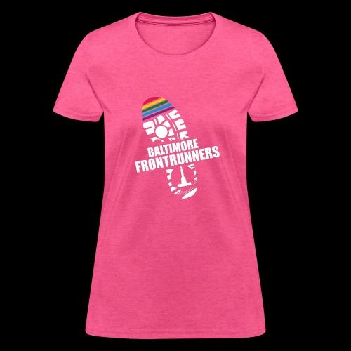Baltimore Frontrunners White - Women's T-Shirt