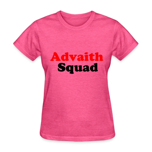 The Offical Advaith Squad Merch - Women's T-Shirt