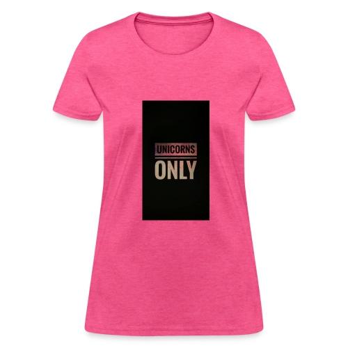 unicorns - Women's T-Shirt