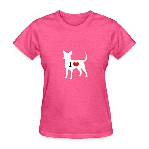 I Heart Chihuahua - Women's T-Shirt