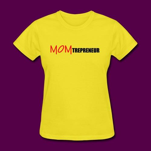 MOMTREPRENEURBLACKRED - Women's T-Shirt