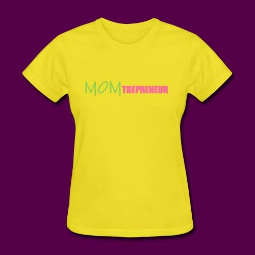 PINKGREENMOMTREPRENEUR - Women's T-Shirt