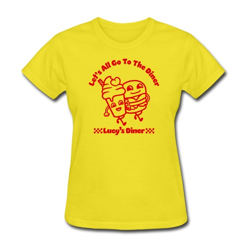 Lucy's Diner - Women's T-Shirt