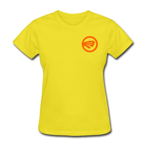 LuckyFin Orange - Women's T-Shirt