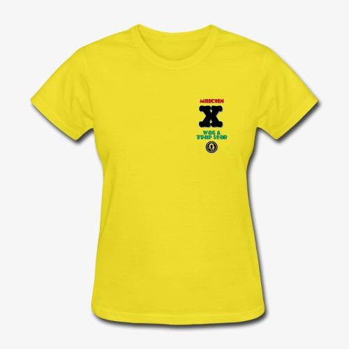 Malcolm X Was a Trap Star (RBG) - Women's T-Shirt