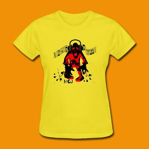 Music Zombie - Women's T-Shirt