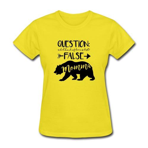 Momma Bear - Women's T-Shirt