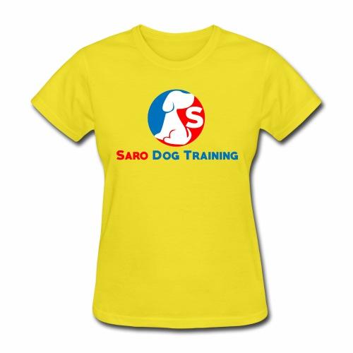 saro dog training logo - Women's T-Shirt