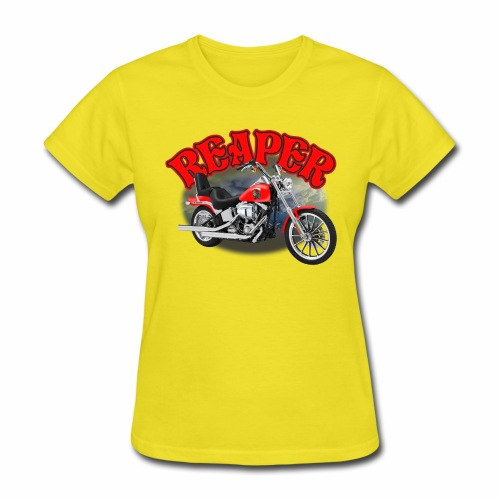 Motorcycle Reaper - Women's T-Shirt