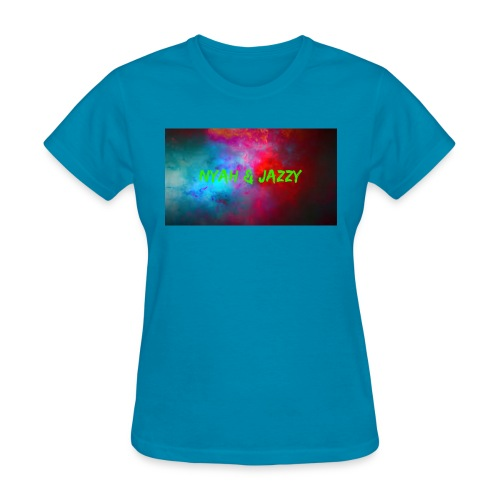 NYAH AND JAZZY - Women's T-Shirt
