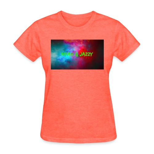 NYAH AND JAZZY - Women's T-Shirt