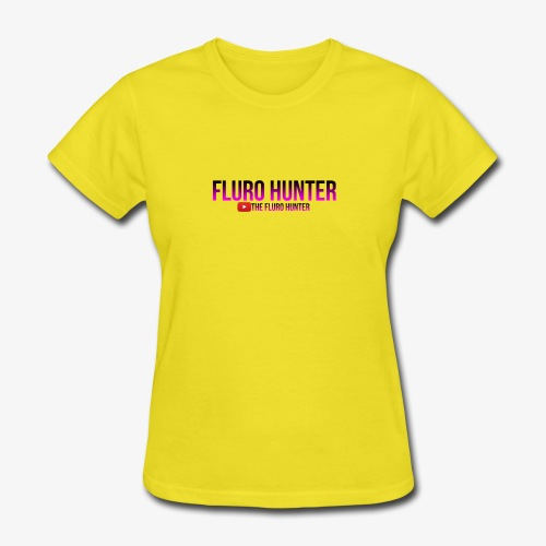 The Fluro Hunter Black And Purple Gradient - Women's T-Shirt