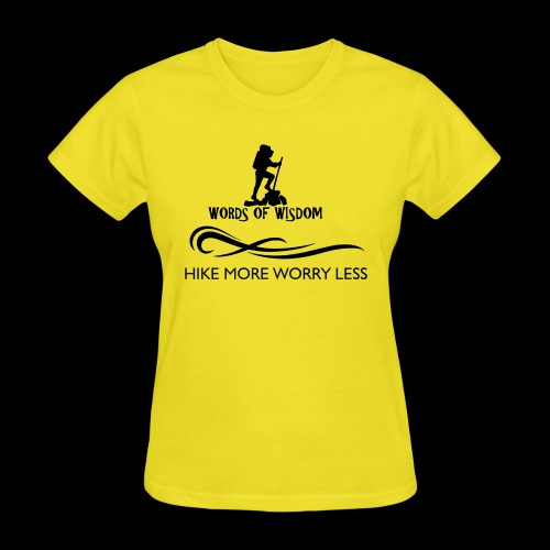 Hike More Worry Less - Women's T-Shirt