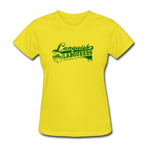 Languish Labourer's Baseball - Women's T-Shirt